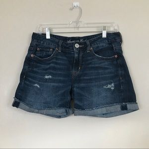 American Eagle cut off distressed shorts. Size 2